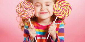 Os perigos do açúcar para o desenvolvimento das crianças